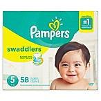 Pampers® Swaddlers™ 58-Count Size 5 Super Pack Diapers