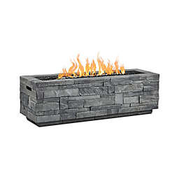 Real Flame® Ledgestone Natural Gas Fire Table