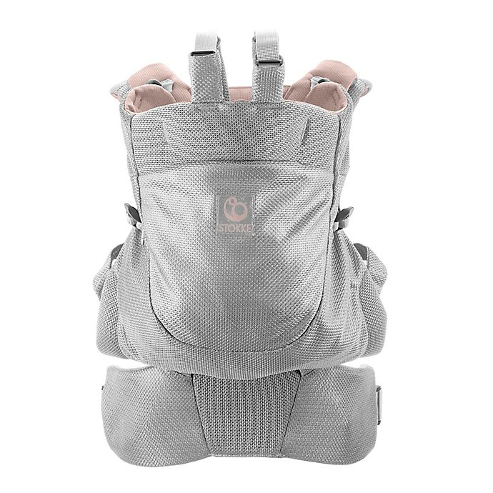 Stokke Mycarrier Back Carrier In Pink Mesh Buybuy Baby