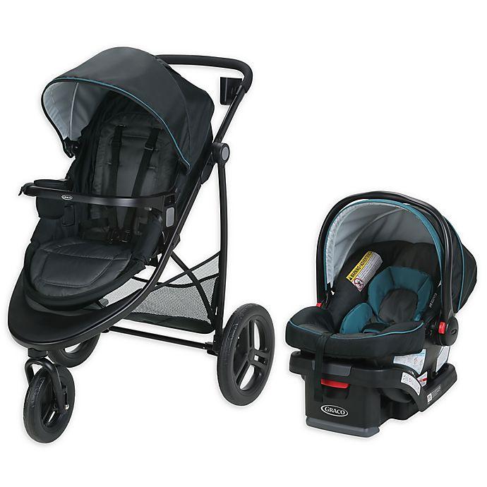 Alternate image 1 for Graco® Modes™ 3 Essentials LX Travel System in Sapphire™