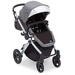 J is for Jeep Sport Utility All-Terrain Stroller in Grey by Delta Children