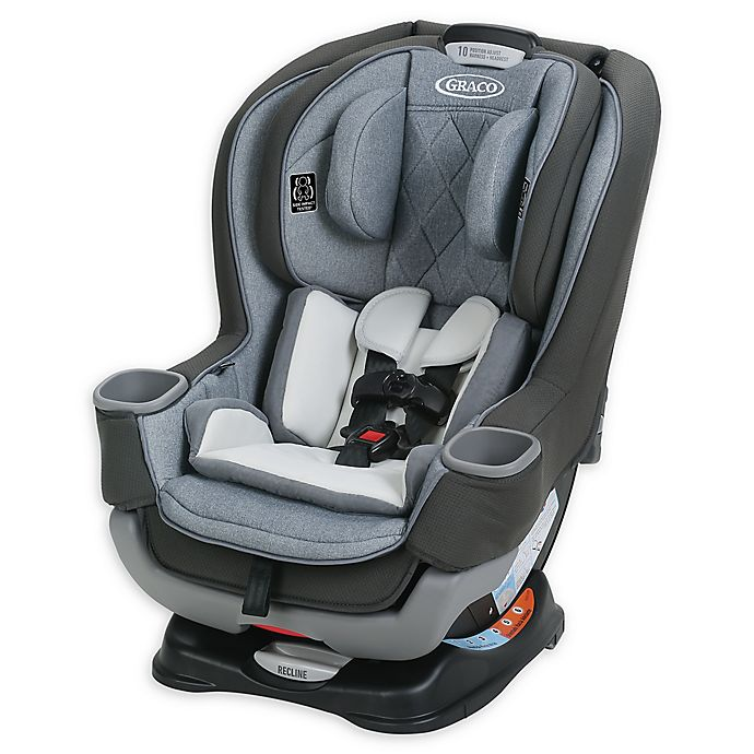 Alternate image 1 for Graco® Extend2Fit® Platinum Convertible Car Seat in Hayden