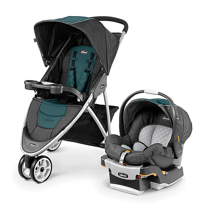 Alternate image 1 for Chicco® Viaro Travel System in Verdant