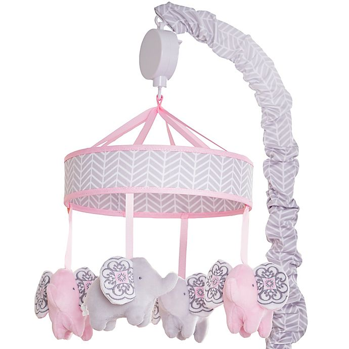 Alternate image 1 for Wendy Bellissimo™ Elodie Elephant Musical Mobile