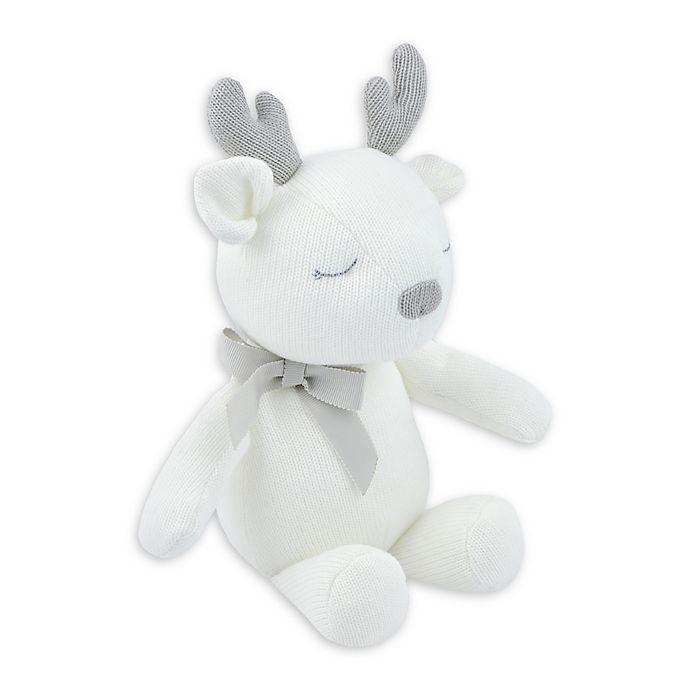 Alternate image 1 for Just Born® Keepsake Deer Plush Toy in Ivory