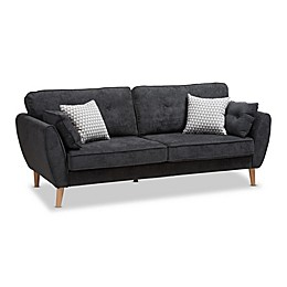 Baxton Studio® Upholstered Recliner Sofa