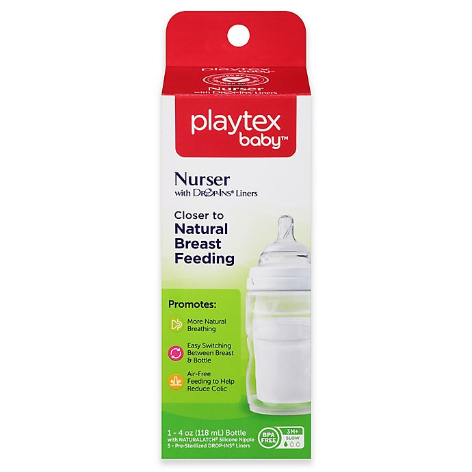 Alternate image 1 for Playtex® 4-Ounce Baby Drop-Ins Nurser