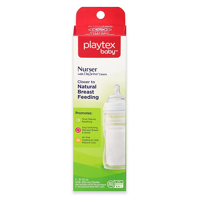 Alternate image 1 for Playtex® 8-Ounce Baby Drop-Ins Nurser