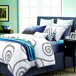Spectrum Home Textiles Reflections Duvet Set