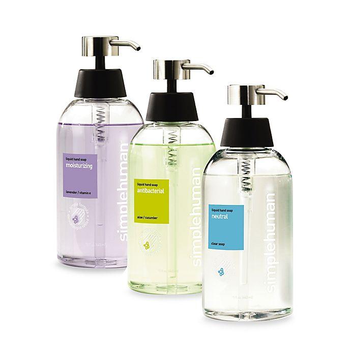 Alternate image 1 for simplehuman® Liquid Hand Soap Dispensers & Refills