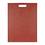 Architec® Poly-Flax 12-Inch x 16-Inch Cutting Board in Red