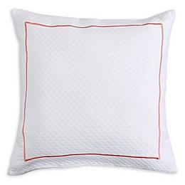 Lamont Home™ Caribbean Flamingo Square Throw Pillow