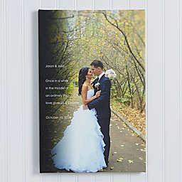 Wedding Sentiments Canvas Print