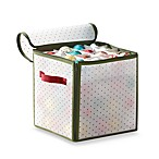 Real Simple® Holiday 64-Count Ornament Storage Box