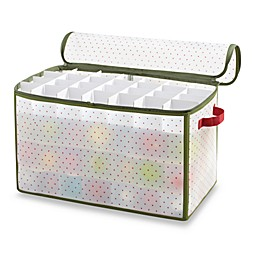 Real Simple® Holiday 112-Count Ornament Storage Box