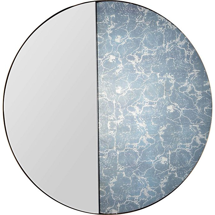Renwil Delmadge 40 Inch Round Wall Mirror Buybuy Baby