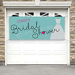 The Dress Bridal Shower Banner