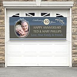 Happy Anniversary Photo Banner