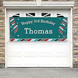 Birthday Boy Party Banner