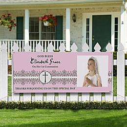 My First Communion Photo Banner