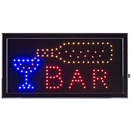 Nottingham Home Bar LED Neon Animated 10-Inch x 19-Inch Sign