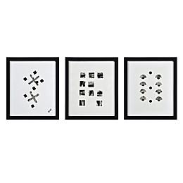 Renwil Portia 20-Inch x 17-Inch Framed Wall Art (Set of 3)