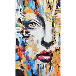 Ara 60-Inch x 30-Inch Canvas Wall Art