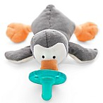 WubbaNub™ Grey Penguin Infant Pacifier