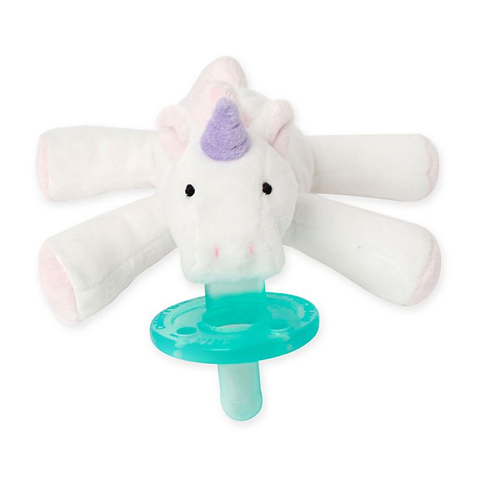 Alternate image 1 for WubbaNub™ Unicorn Infant Pacifier