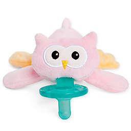 WubbaNub™ Pink Owl Infant Pacifier