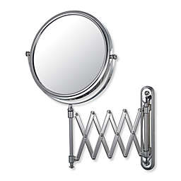 Kimball & Young 233 Series Extension Arm 5X/1X Wall Mirror with Chrome Finish