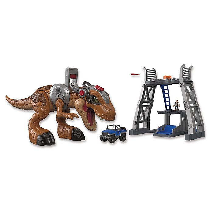 Fisher Price Imaginext Jurassic World Jurassic Rex Play Set Bed