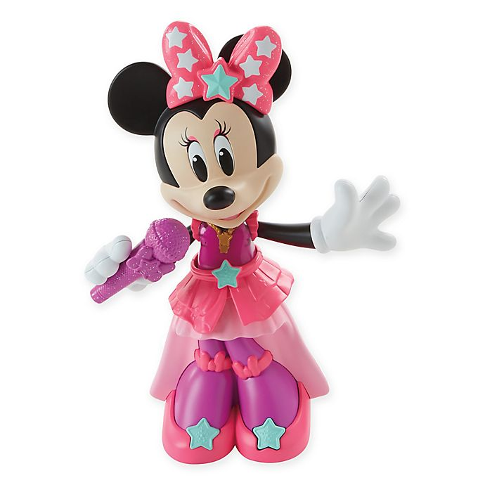 Alternate image 1 for Fisher-Price® Disney® Dancing Diva Minnie Mouse in Pink