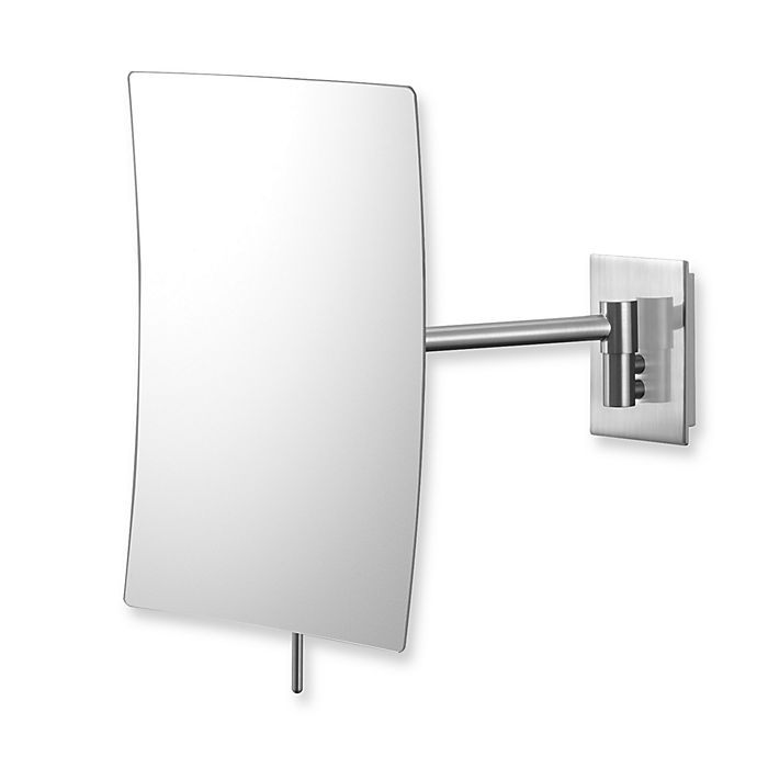 Mirror Image™ Minimalist Rectangular 3X Wall Mirror with ...