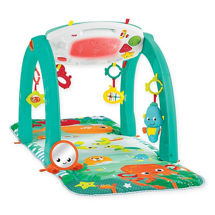 Alternate image 1 for Fisher Price® 4-in-1 Ocean Activity Gym