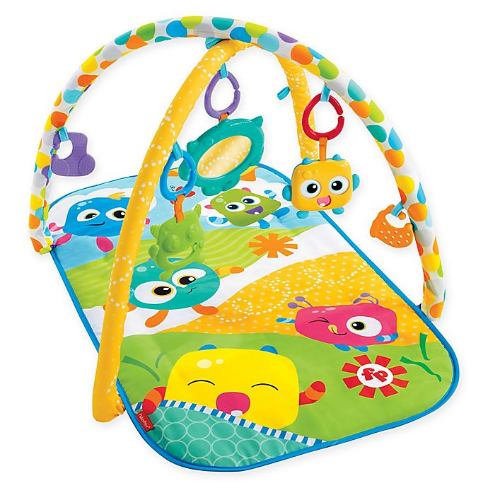 Alternate image 1 for Fisher-Price® Mini Monsters Activity Gym