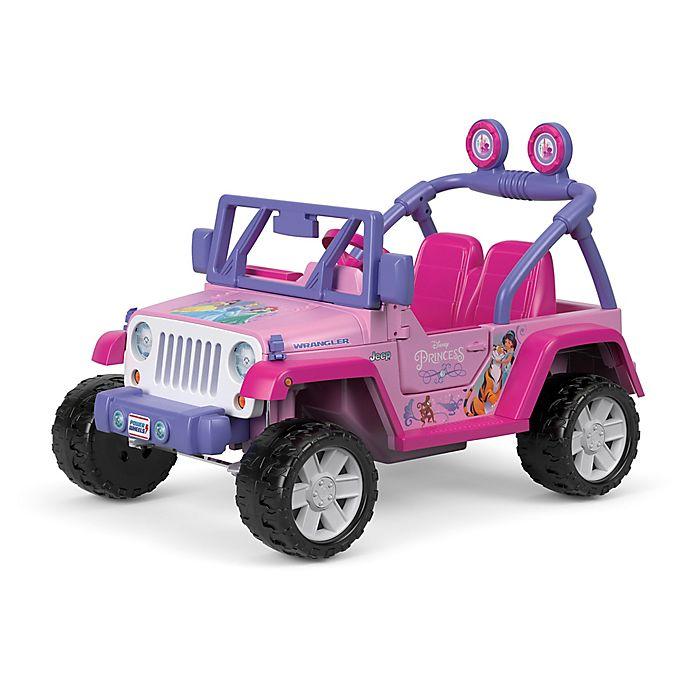 Alternate image 1 for Fisher-Price® Power Wheels® Disney® Princess Jeep® Wrangler in Pink