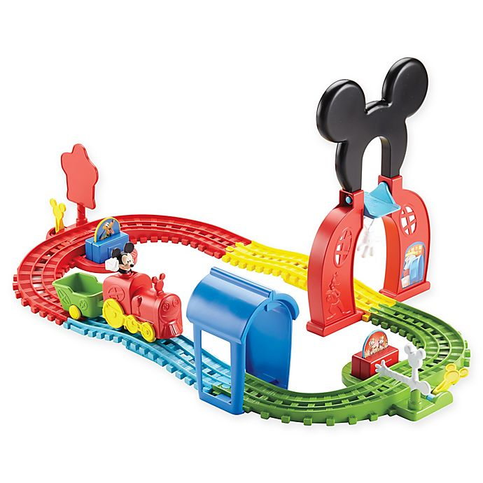 Fisher Price Disney Mickey Mouse Clubhouse Mouska Train Playset Buybuy Baby