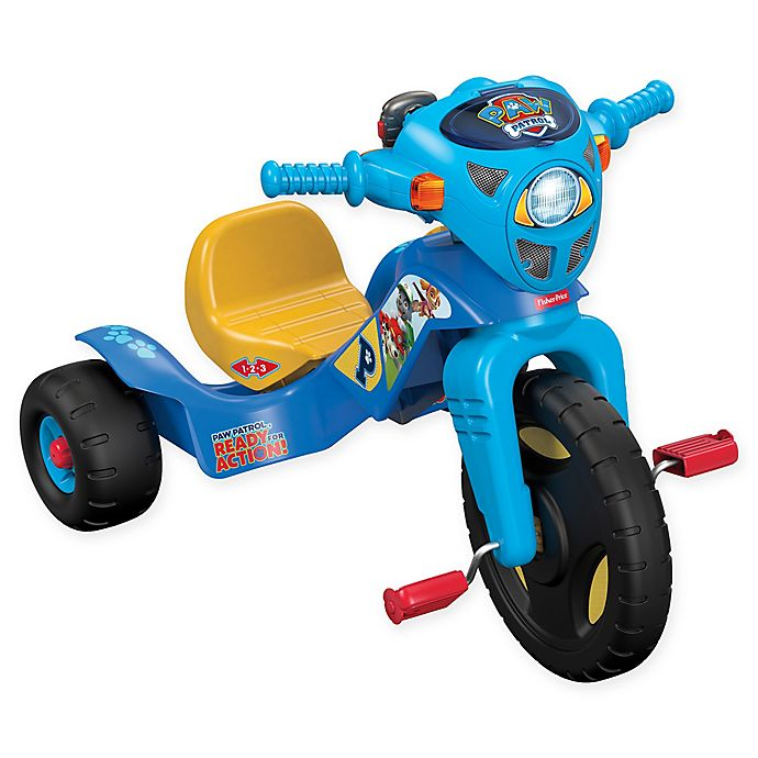 Alternate image 1 for Fisher-Price® Nickelodeon™ PAW Patrol™ Lights & Sounds Trike in Blue