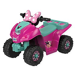 Fisher-Price® Power Wheels® Disney® Minnie Mouse Lil' Quad™ in Pink