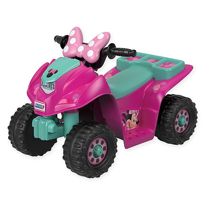75e333fdc60 Fisher-Price® Power Wheels® Disney® Minnie Mouse Lil' Quad™ in Pink ...