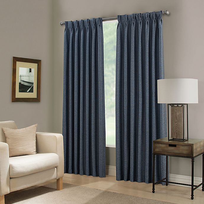 Alternate image 1 for Paradise Pinch Pleat Room Darkening Window Curtain Panel