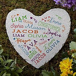 Close to Her Heart Garden Stone