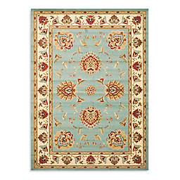 Safavieh Lyndhurst Flower Palmette 8 Foot X 11 Room Size Rug In Blue