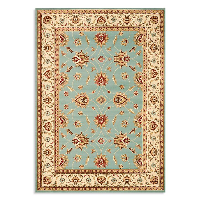Alternate image 1 for Safavieh Lyndhurst Flower Rug in Blue