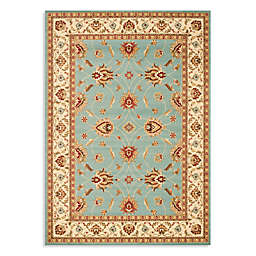 Safavieh Lyndhurst Flower 8-Foot x 11-Foot Room Size Rug in Blue
