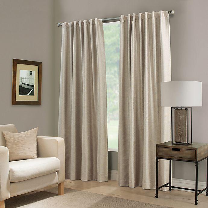 Alternate image 1 for Paradise 63-Inch Rod Pocket/Back Tab Room Darkening Window Curtain Panel in Ivory