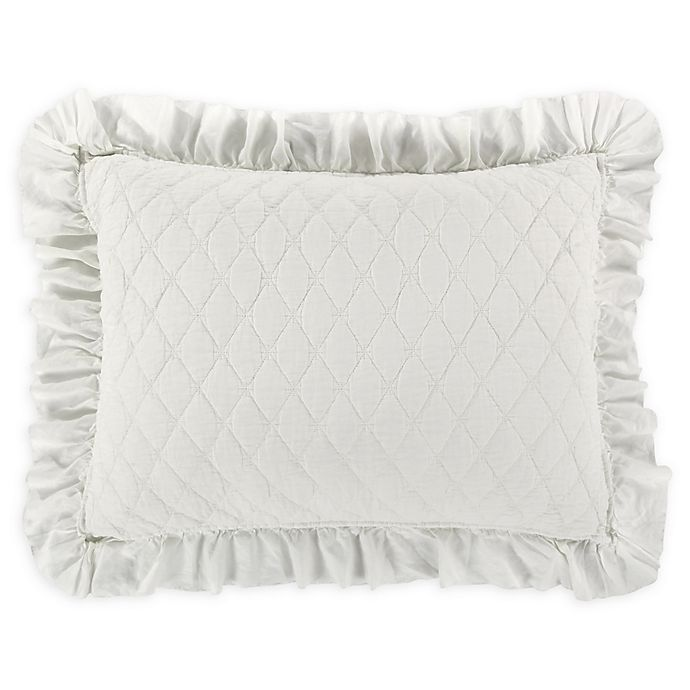 Alternate image 1 for Levtex Home Sandwash<strong> </strong>Standard Pillow Sham in Ivory