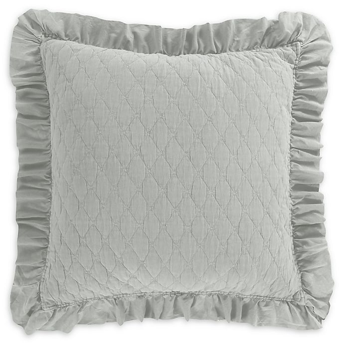 Alternate image 1 for Levtex Home Sandwash<strong> </strong>European Pillow Sham in Blue