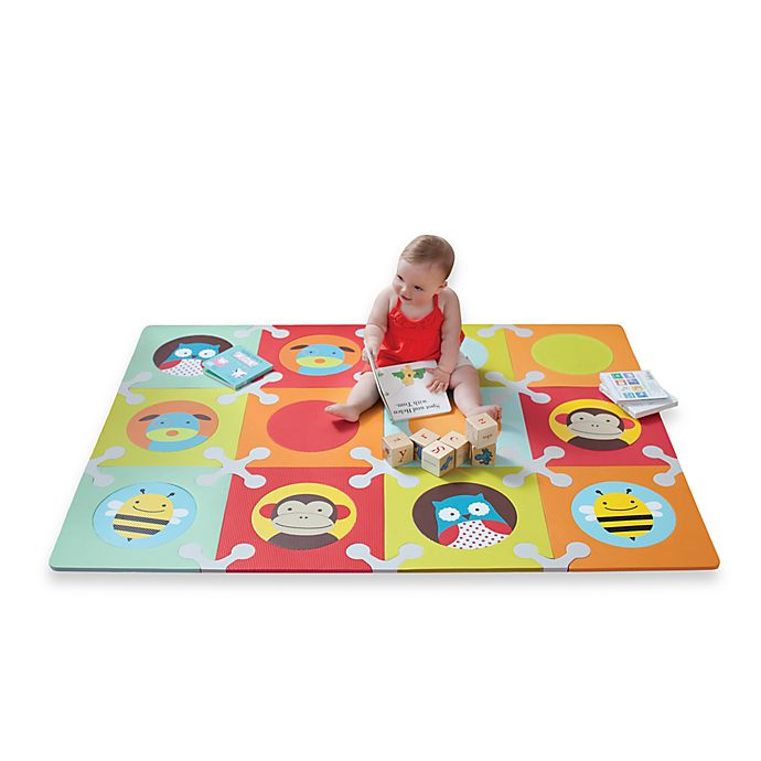 Skip Hop Floor Mat With Foam Tiles In